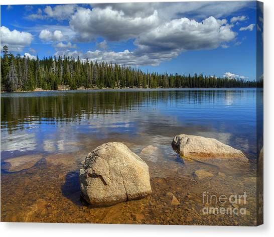 Lost Lake Canvas Print
