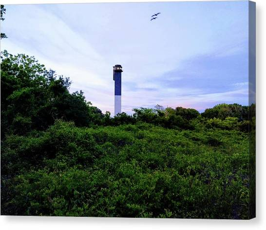 Lost Lighthouse Canvas Print