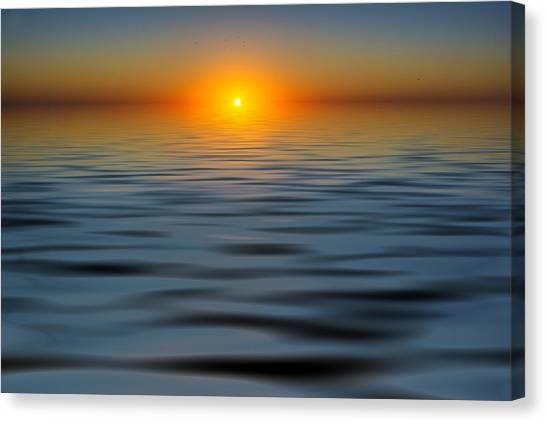 Lost Sun Canvas Print