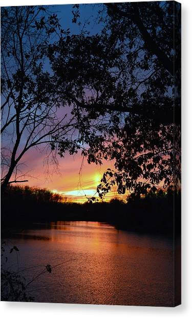 Lost Sunset Canvas Print