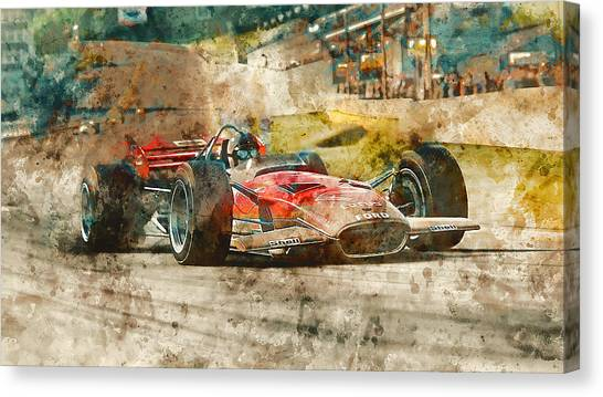 Lotus 49 - 33 Canvas Print