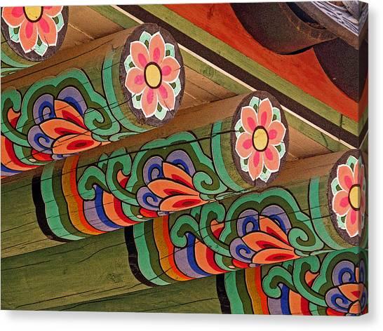 Lotus Beams Canvas Print