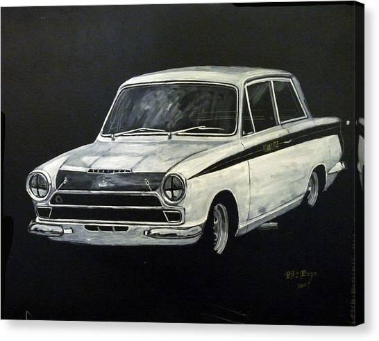 Lotus Cortina Canvas Print