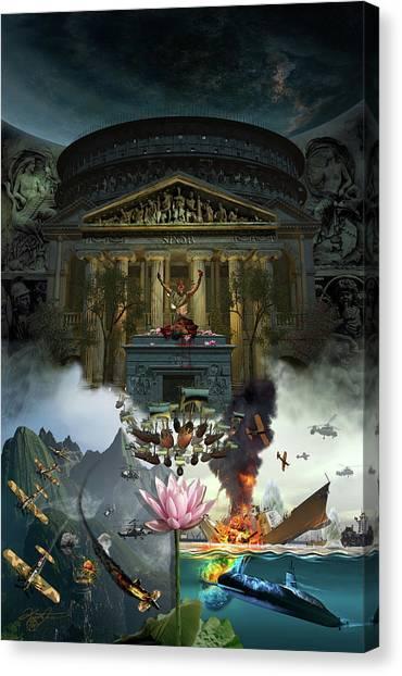 Lotus Eaters Canvas Print by Kurt Miller