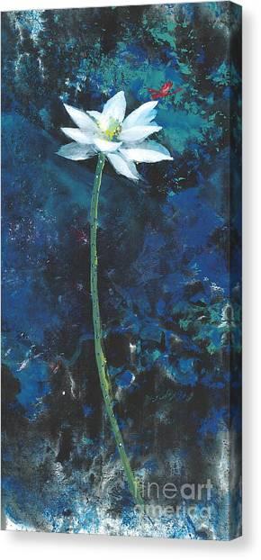 Lotus IIi Canvas Print by Mui-Joo Wee