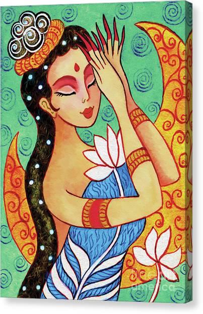 Lotus Meditation Canvas Print