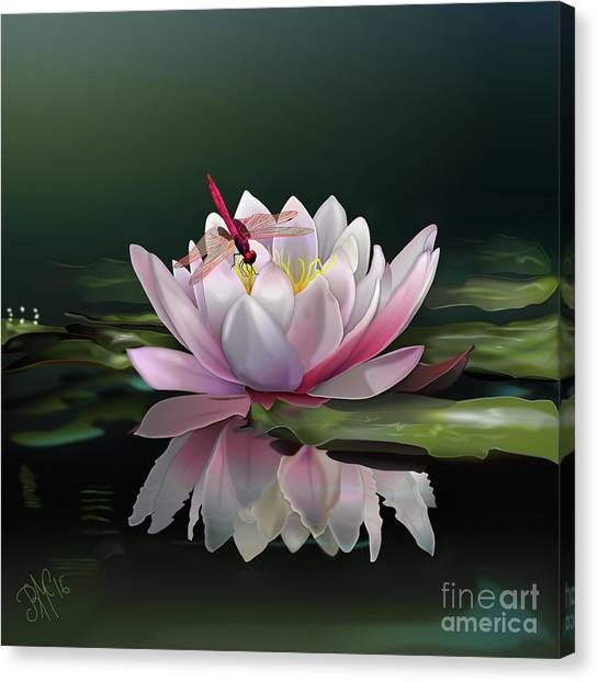 Lotus Meditation Canvas Print