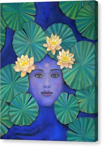 Lotus Nature Canvas Print