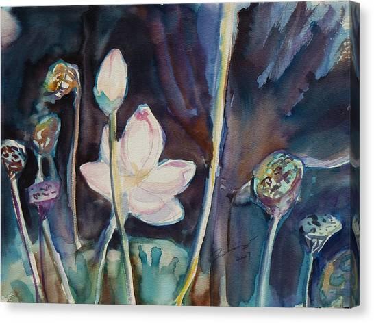 Lotus Study II Canvas Print