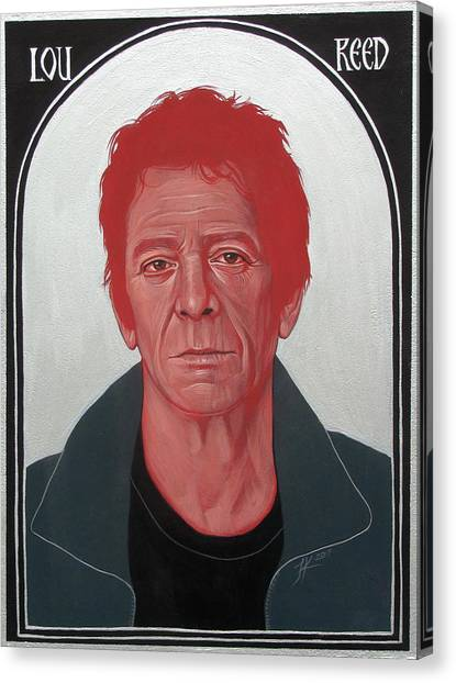 Lou Reed 2 Canvas Print
