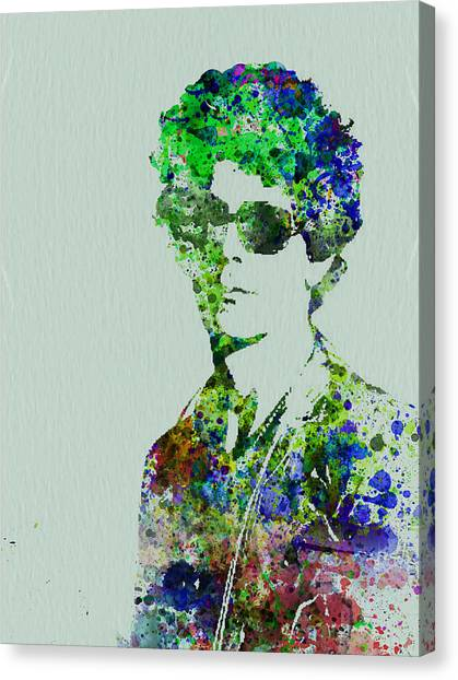Irish Canvas Print - Lou Reed by Naxart Studio
