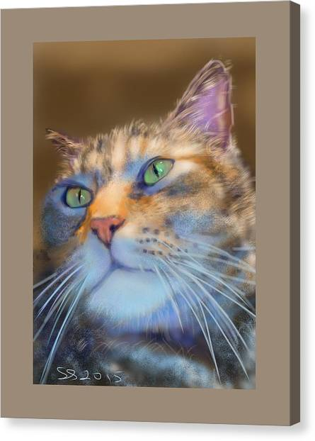 Louanne Canvas Print