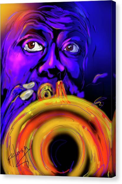 Louie Canvas Print