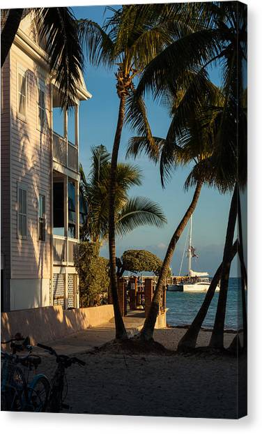 Louie's Backyard Canvas Print