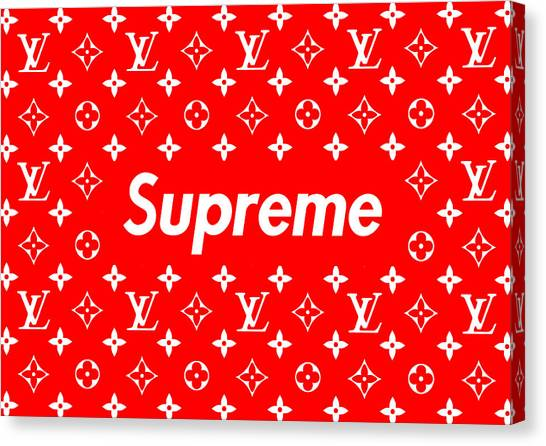 ea10c49f64a2 Louis Vuitton Canvas Print - Louis Vuitton X Supreme by Jae L