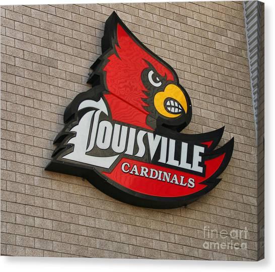 University Of Louisville Canvas Print - Louisville Cardinals  1916 by Jack Schultz