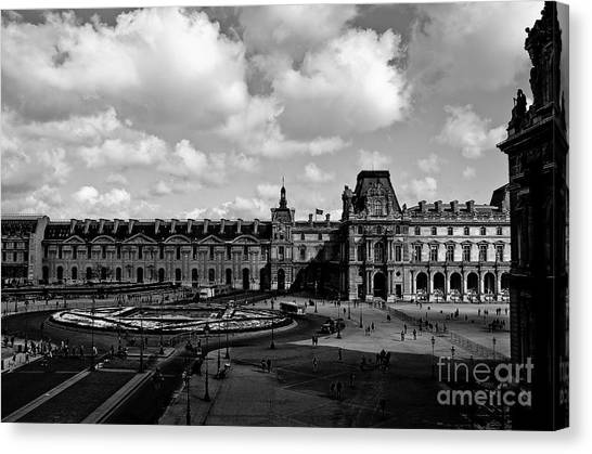 Louvre Museum Canvas Print