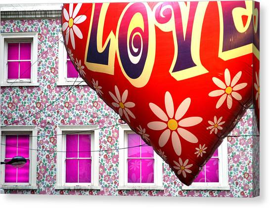 Love Above All Canvas Print by Jez C Self