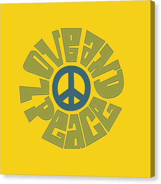 Peace Sign Canvas Prints Page 7 Of 52 Fine Art America
