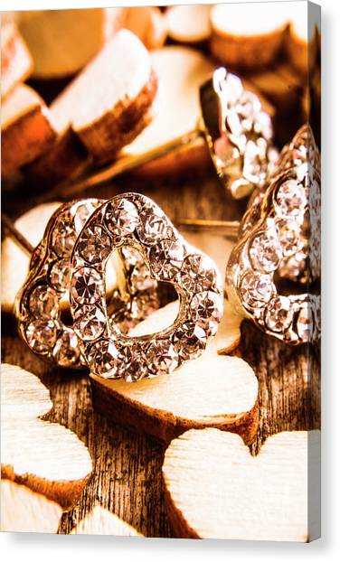 Shopping Canvas Print - Love And The Jewellery Store by Jorgo Photography - Wall Art Gallery