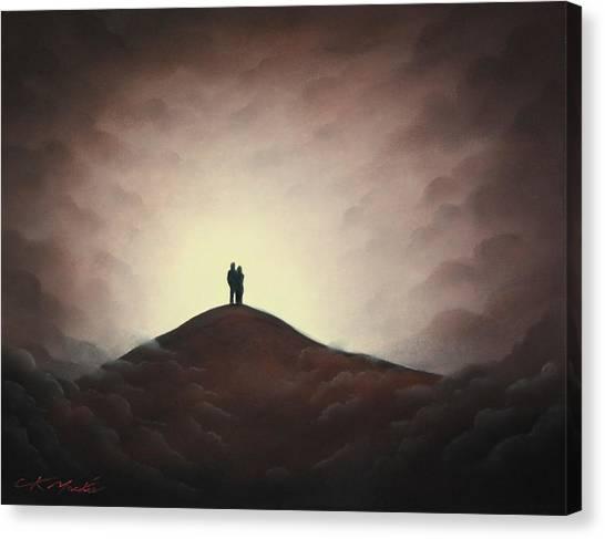 Love At Last Light II Canvas Print