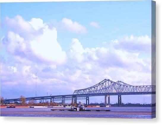 Love Can Build A Bridge Canvas Print by Gracey Tran