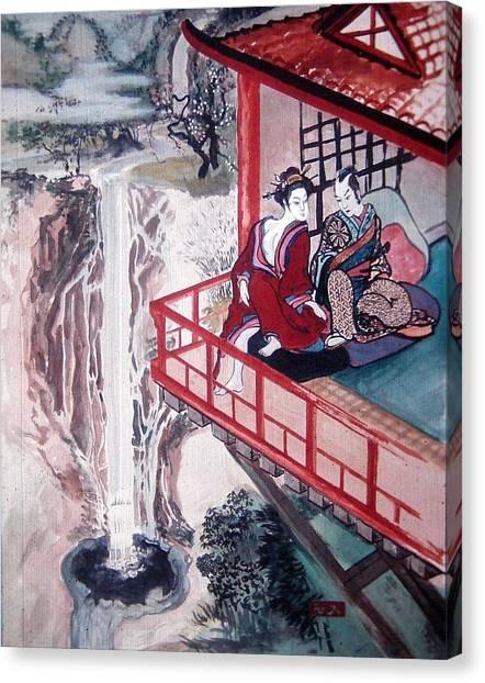 Love Is A Deep Pool Canvas Print