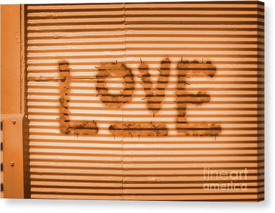 Design Canvas Print - Love Is All by Jorgo Photography - Wall Art Gallery