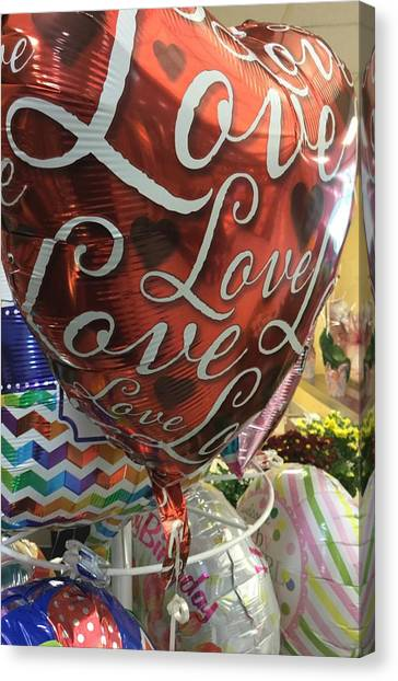 Love Canvas Print by James E Swarthout