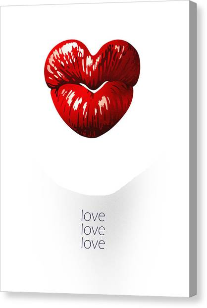 Love Poster Canvas Print