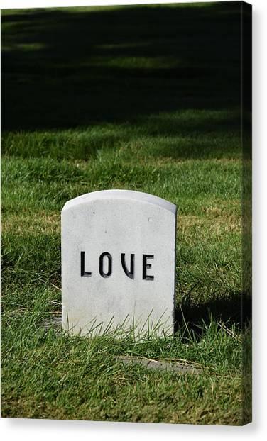 Love Monument Canvas Print