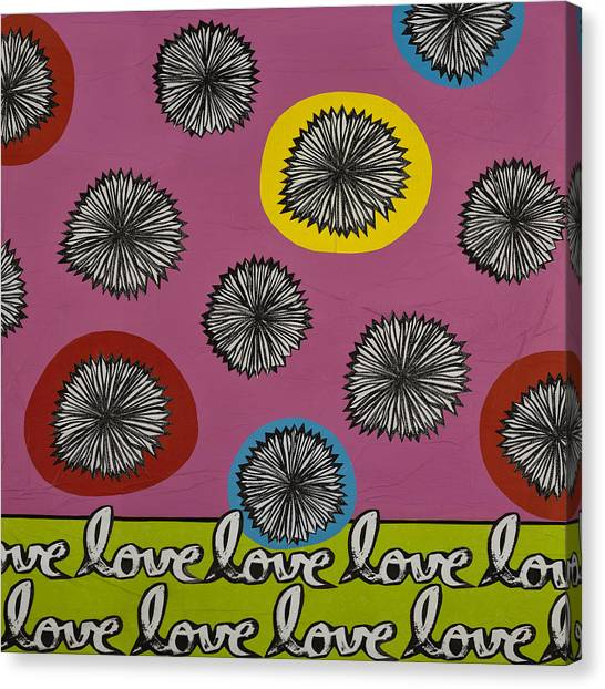 Love Multiplied Canvas Print