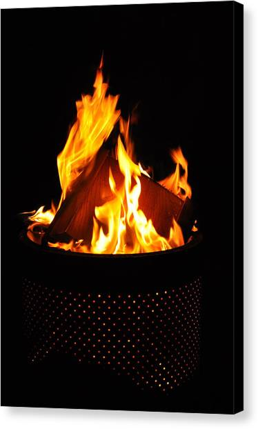 Love Of Fire Canvas Print