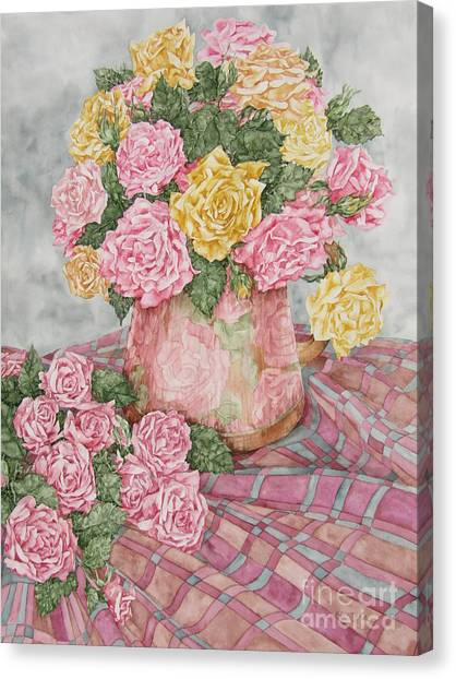 Love Of Roses Canvas Print