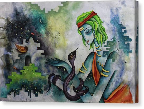 Love Of Shiva Canvas Print