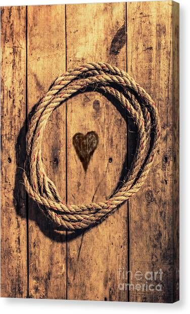 Rope Canvas Print - Love Of The Sea  by Jorgo Photography - Wall Art Gallery