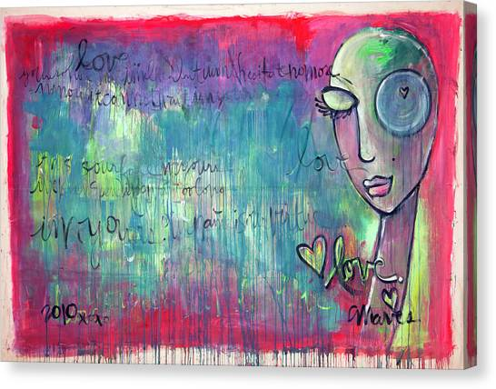 Love Painting Canvas Print