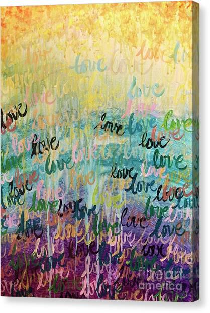 Love Reigns Canvas Print