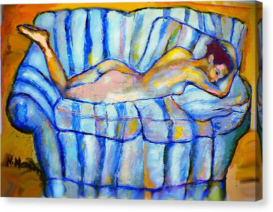 Love Seat Canvas Print by Noredin Morgan