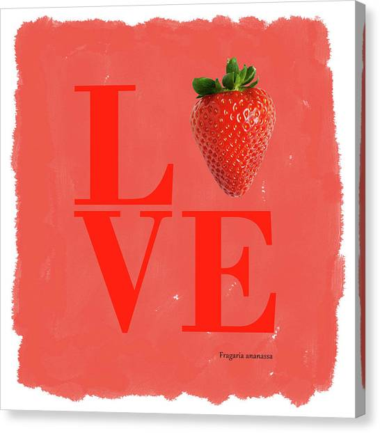 Watermelons Canvas Print - Love Strawberry by Mark Rogan