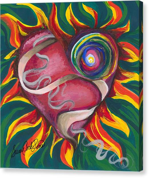 Love Canvas Print by Susan Cooke Pena