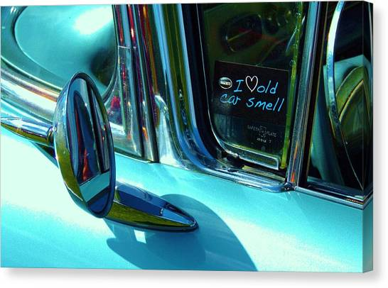Love That Old Car Smell Canvas Print