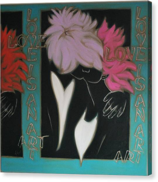 Love Canvas Print by Varvara Stylidou