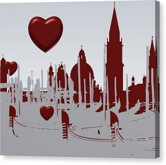 Love Venice Canvas Print