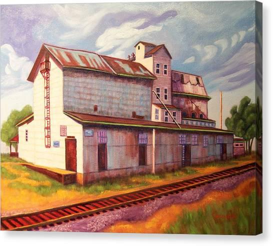 Loveland Feed And Grain Mill Canvas Print