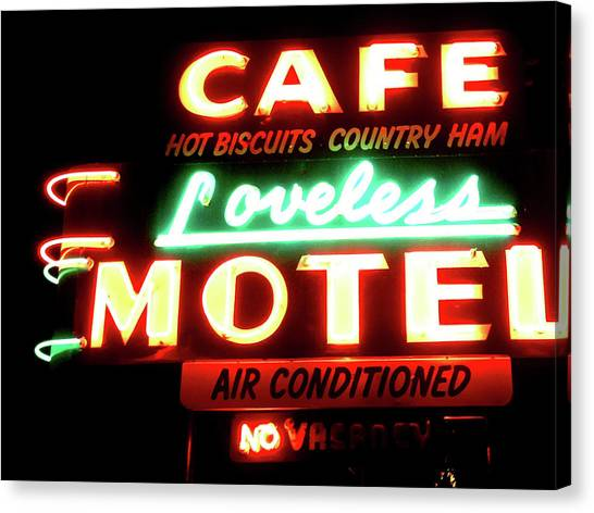 Nashville Canvas Print - Loveless Cafe- Art By Linda Woods by Linda Woods