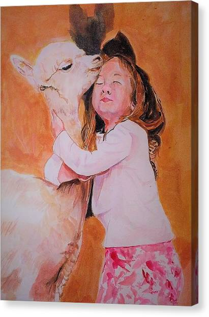 Sensitivity. Canvas Print