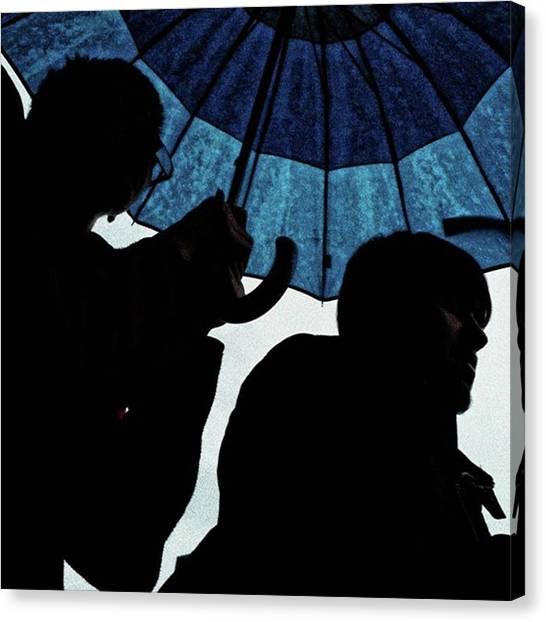 Weather Canvas Print - Lovely Basque Weather #weather #rain by Rafa Rivas