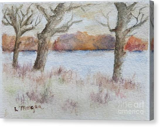 Lovers' Lake Canvas Print