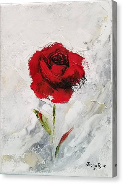 Love's Avalanche Canvas Print